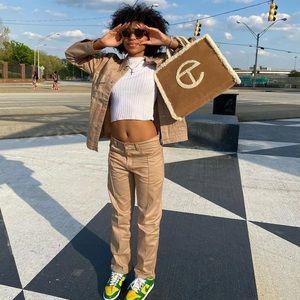 UGG x TELFAR MEDIUM Shopping Bag - Chestnut